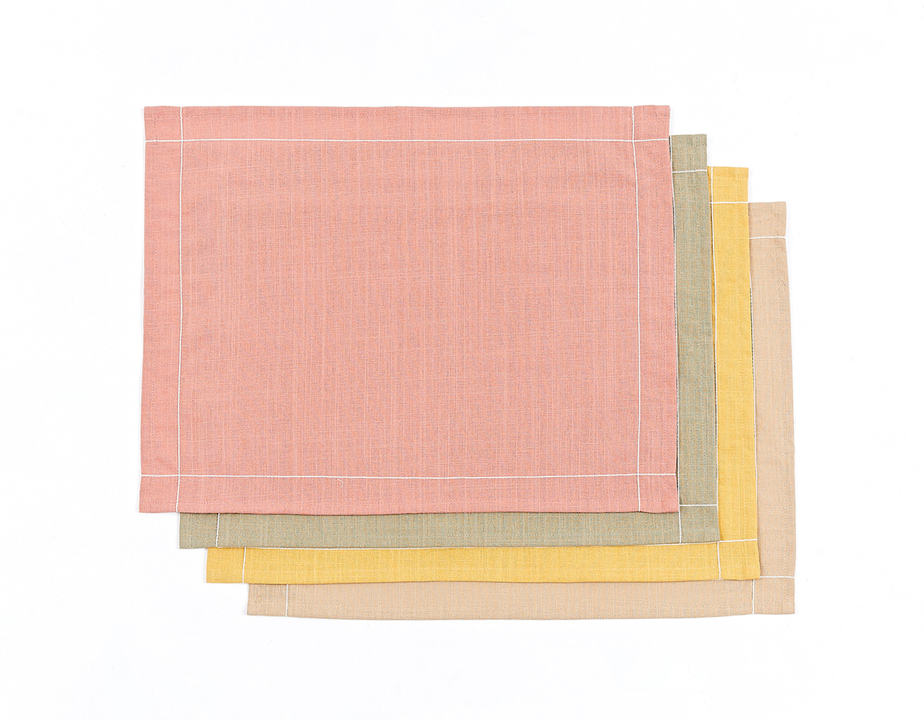 LINING STITCH TABLE MAT - SQUARE